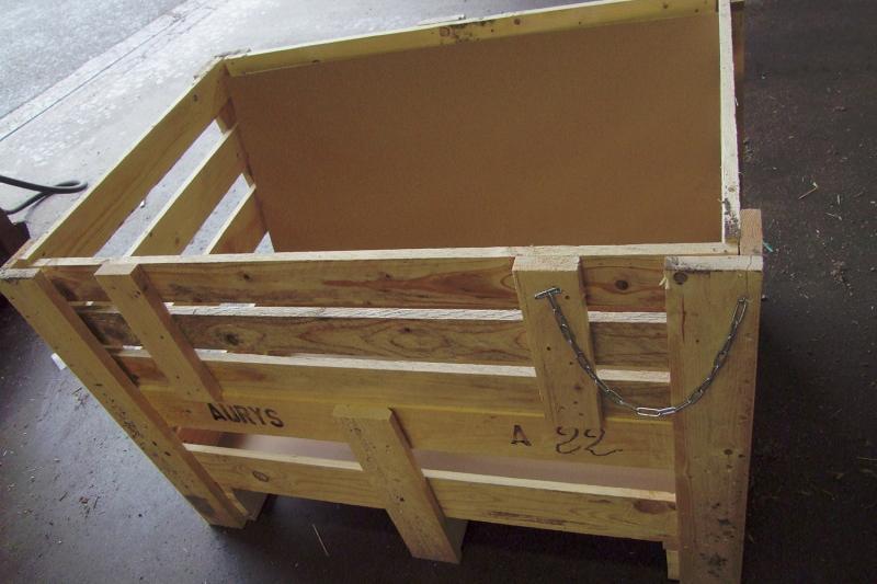 Caisse En Bois Pour Transport - Caisses en bois pour le transport industriel et maritime